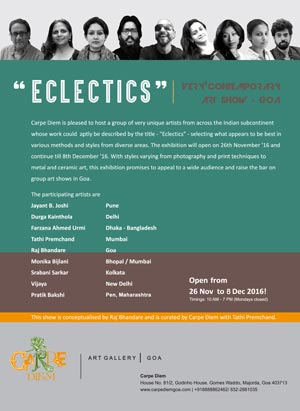 Eclectics Group Exhibition