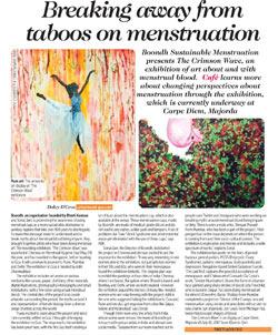 Breaking away from taboos on menstruation
