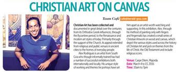 Christian Art on Canvas