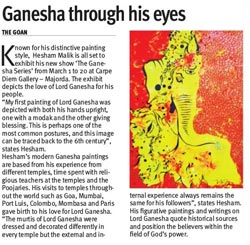 Ganesha through his eyes
