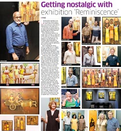 Getting nostalgic with exhibition 'Reminiscence'