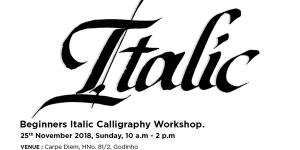 Italics Calligraphy Workshop