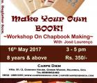 Chapbook Making Workshop with Jose Lourenco