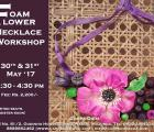Foam Flower Necklace Workshop