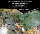 On - Glaze Tile Painting Workshop with Ramdas Gadekar