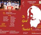 Carpe Diem event - Is God a Taoist