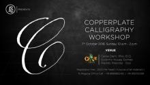 Copperplate Calligraphy Workshop