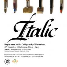 Italics Calligraphy Workshop