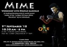Mime workshop