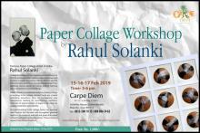 Paper collage workshop