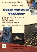 A Cold Ceramics workshop
