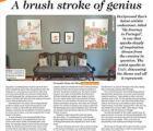 A Brush Stroke Of Genius