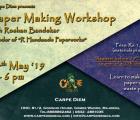A Paper Making Workshop
