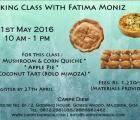 Carpe Diem event - Baking Class For Adults