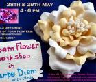 Foam Flower Workshop
