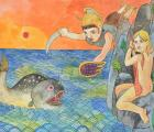 Perseus Saves Andromeda