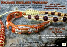Macrame Jewellery Workshop