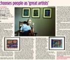 Art chooses people as 'great artists'